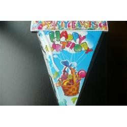 Vlaggenlijn Happy Birthday...